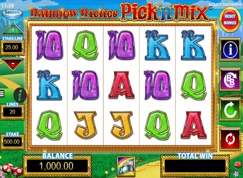 Jouer à Rainbow Riches Pick'n'Mix
