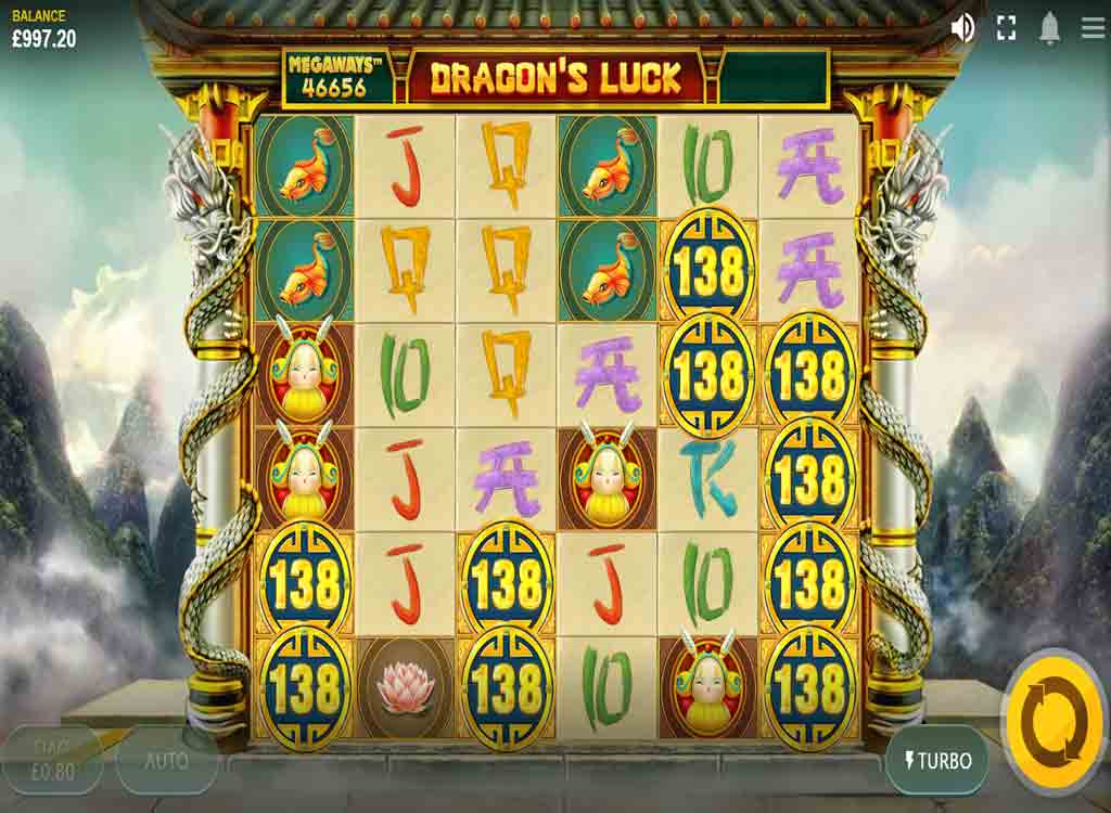 Jouer à Dragon's Luck Megaways