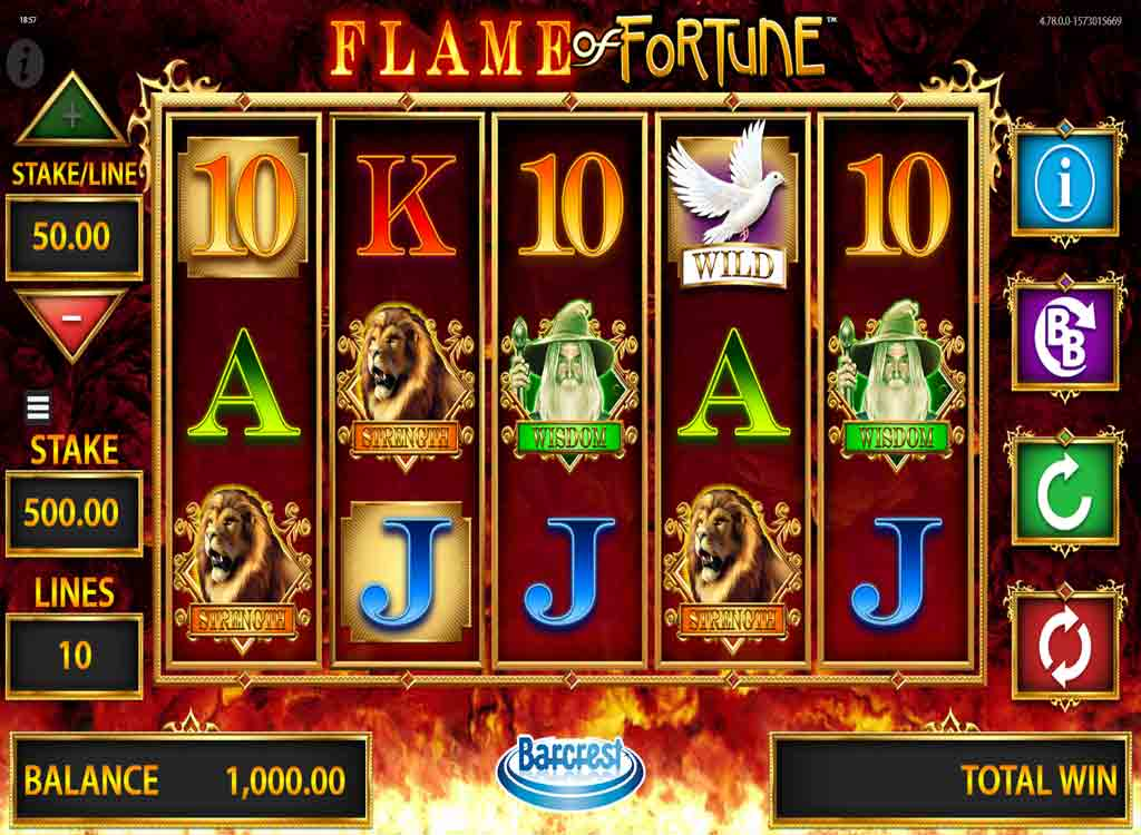 Jouer à Flame of Fortune