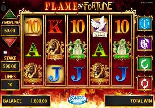 Machine à sous Flame of Fortune